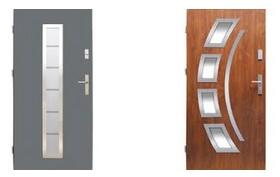 Виды входных железных дверей