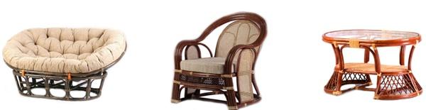 , Мебель из ротанга — Интернет-магазин «KOKON»