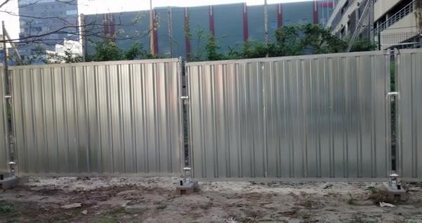 , Забор из профнастила