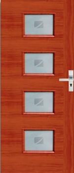 Межкомнатня ламинированная, крашеная дверь mdf