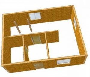 Преимущества и недостатки быстромонтируемых домов
