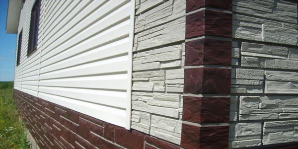 Материал фасад сайдинг